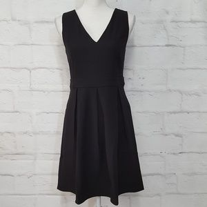ModCloth Black Fit and Flare Dress Sz M